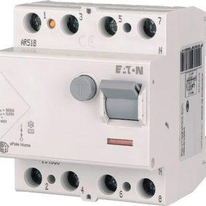 УЗО Eaton (Moeller) HNC 4,5kA тип АС 4P 40А 30mA УЗО