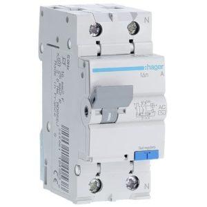 ДИФ автомат однофазный 2p40A типAC х-каB 30mA Дифференциальный автомат Hager 2p