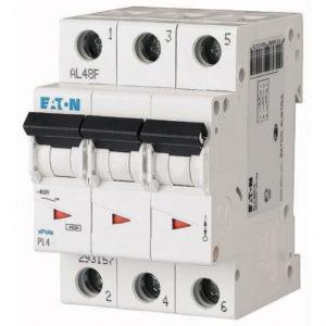 Автоматический выключатель Eaton (Moeller) 3p 6А х-ка C 4,5kA Автоматы
