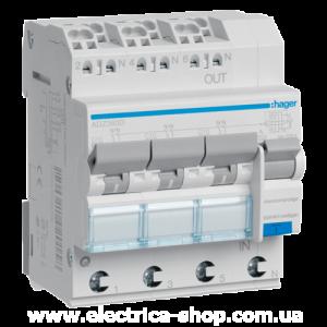 ДИФ автомат трёхфазный 4p 40A тип A х-ка С 30mA ДИФреле трехфазное 4p