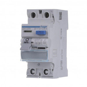 ДИФ автомат однофазный 2p 25A тип A х-ка C 30mA ДИФ автомат однофазний