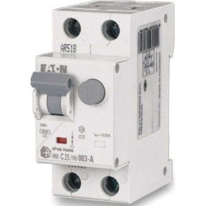 Дифференциальный автомат 2P. 25А 30мА HNB-C25/1N/003 EATON тип C ДИФ автомат однофазний